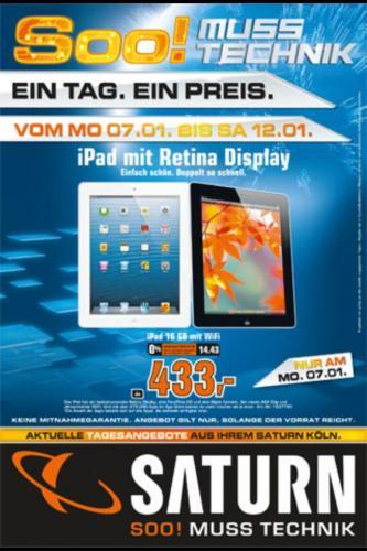 iPad 4  16GB  (Wifi-Version)