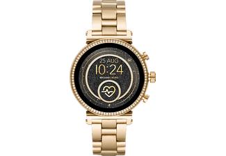 MICHAEL KORS MKT 5062 Sofie Smartwatch Edelstahl Edelstahl, 190 mm, Gold