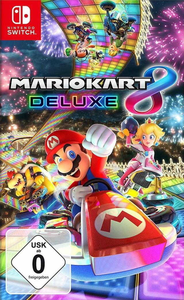 Mario Kart 8 Deluxe [Switch] für 44,99€ inkl. Versand