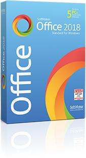 Softmaker Office 2018 für bis zu 5 PC [Linux, Windows, macOS]