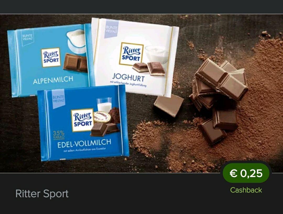 Bestpreis möglich 25 Cent CB Marktguru RitterSport