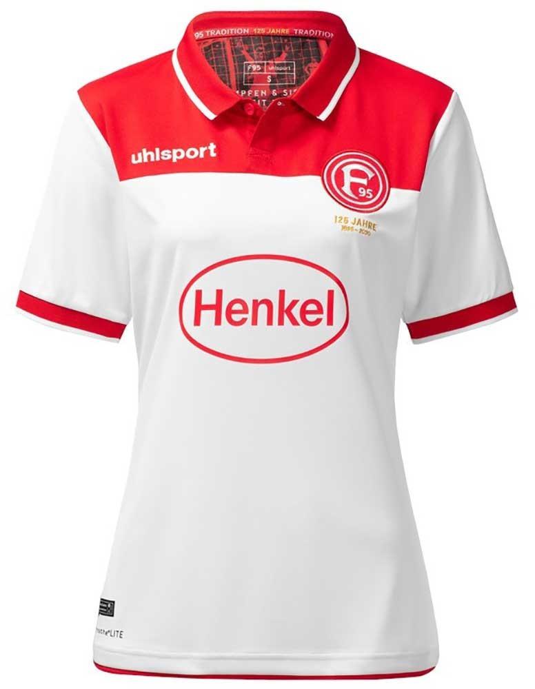 Uhlsport Fortuna Düsseldorf Heimtrikot Damen Saison 19/20 (Gr. XS, S, L - 2XL) und auch andere Fortuna Trikots