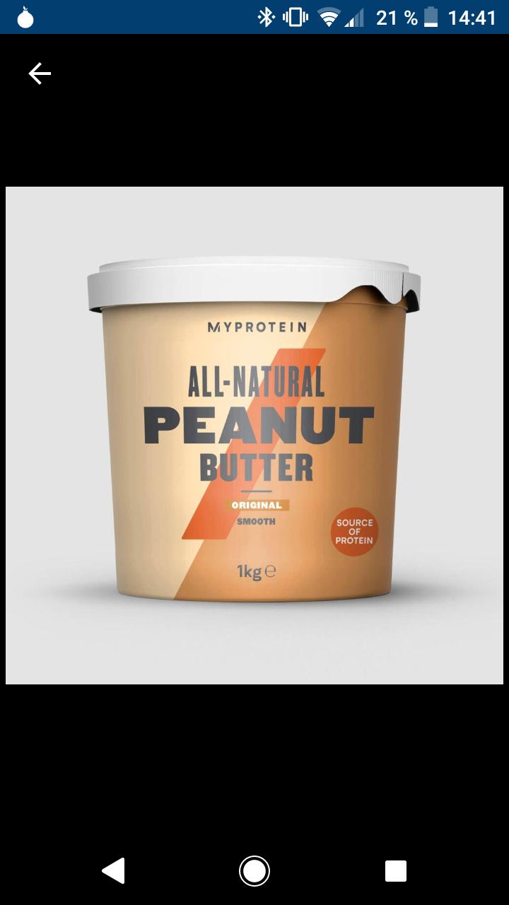 MyProtein Erdnussbutter Crunchy/Cremy