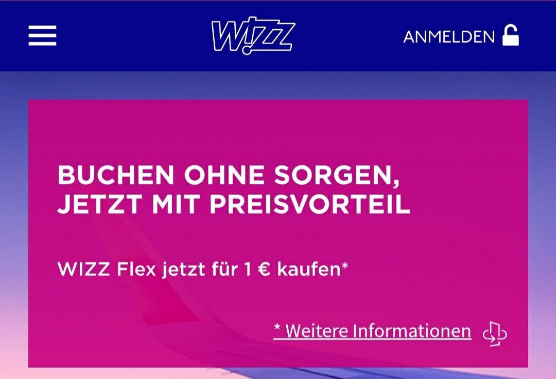 WIZZAIR FLEX 1€