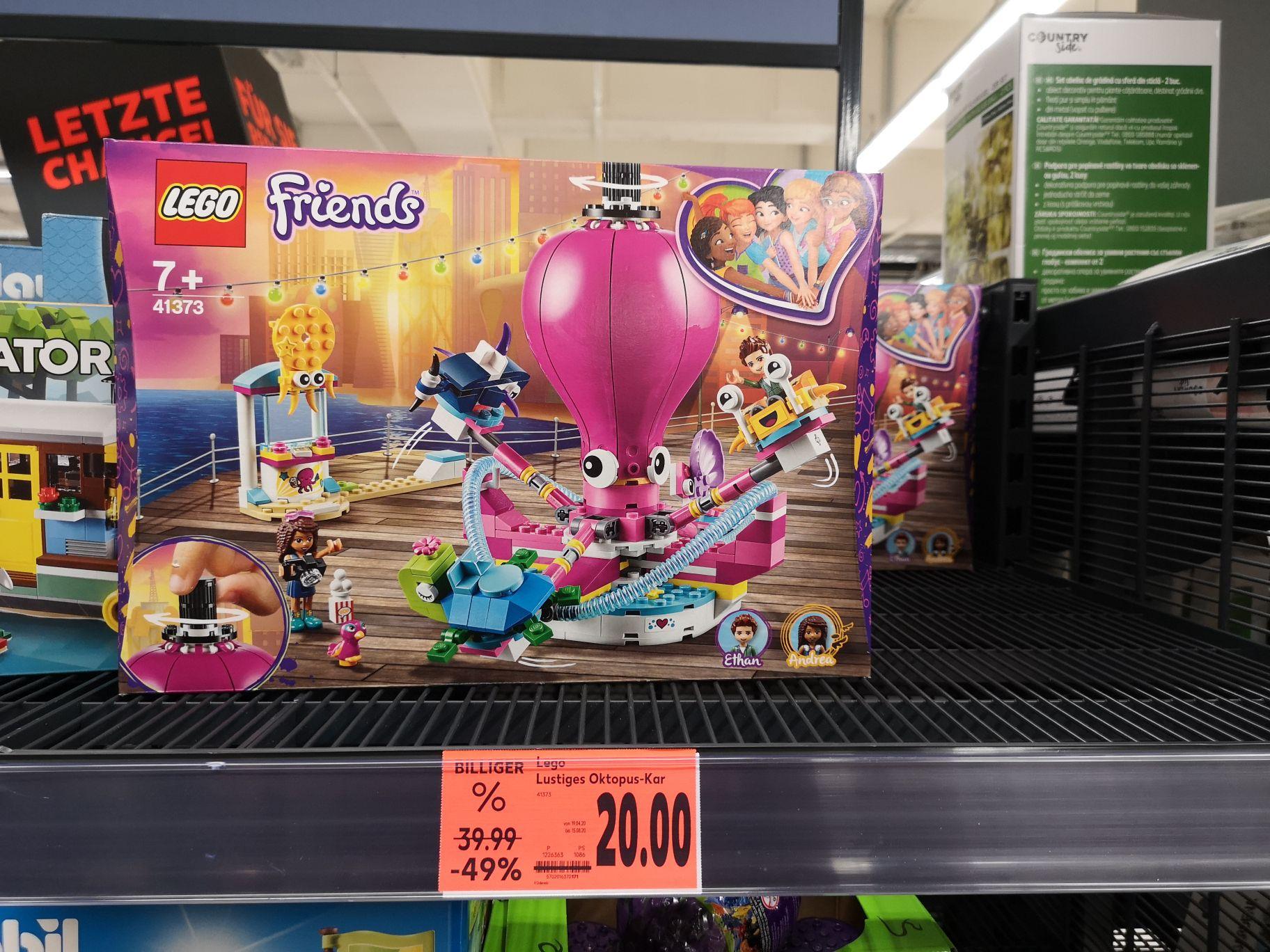 Lego Friends 41373 Oktopuss-Karusell LOKAL Kaufland Dortmund