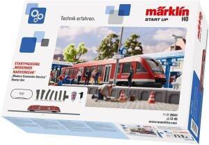 "Märklin Start up (29641) Start-Set ""Moderner Nahverkehr"" Modelleisenbahn, DB AG, Spur H0 für 129,99€ versandkostenfrei (Saturn)"
