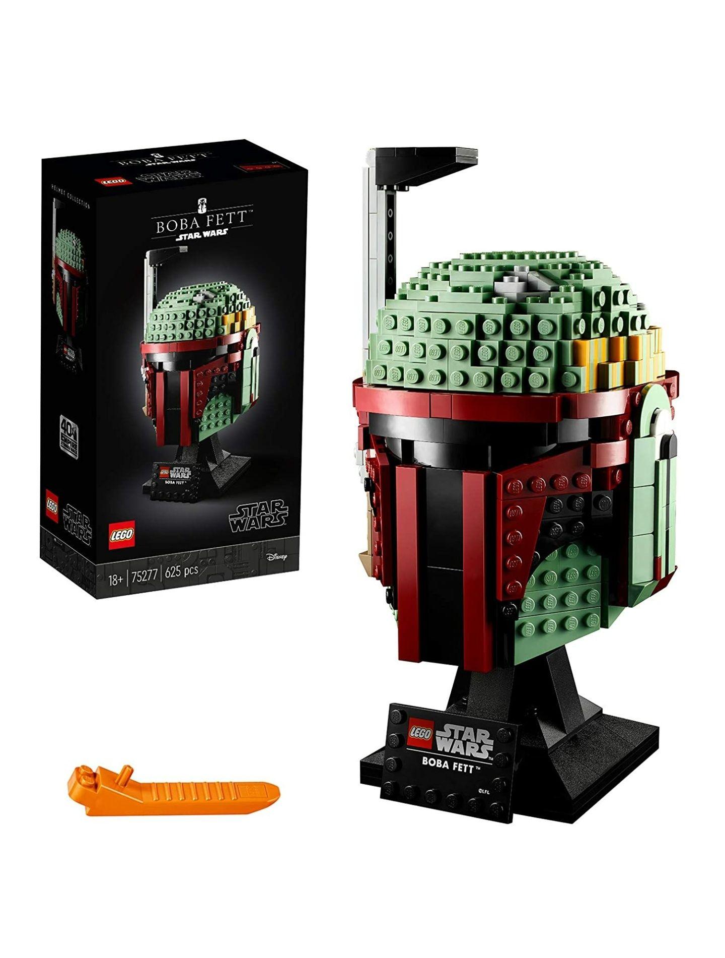 LEGO® 75277 Boba Fett Helm, Star Wars Charakter als Bauset zum Sammeln