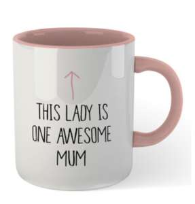 4 Tassen für 17€ inkl. Versand - 346 Motive zur Auswahl - z.B. 'This Lady is One Awesome Mum'