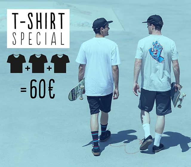 Blue Tomato Shop 3 T-Shirt für 60€