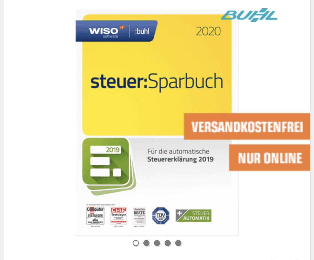 WISO Steuer Sparbuch 2020 Box