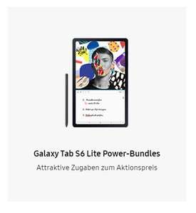 [unidays/CB] Samsung Galaxy Tab S6 Lite Wifi - 322 € / LTE 373 € + kostenloses Book Cover (Hülle)