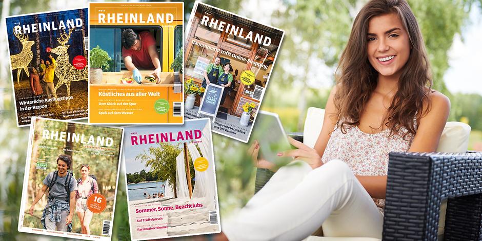 """Kölner Stadt Anzeiger (KSTA) - 5 Ausgaben """"mein Rheinland"""" kostenlos als E-Paper (Registrierung erforderlich)"""