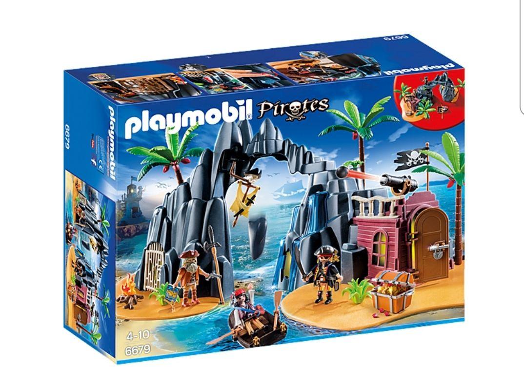 Playmobil Piraten-Schatzinsel 6679
