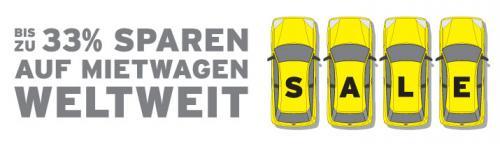 Hertz  - Sparen Sie weltweit bis zu 33% Rabatt in über 100 Ländern
