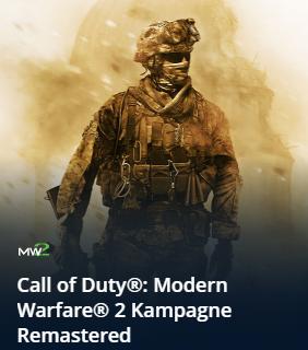 [Blizzard] Call of Duty: Modern Warfare 2 Kampagne Remastered - Battle.net - Russland PC-Version (in Deutsch spielbar)