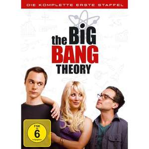 [DVD] 3 Staffeln TV-Serien für zusammen 25,00 EUR (z.B. The Big Bang Theory, Two and a half Man, The Mentalist etc.) @ Amazon.de