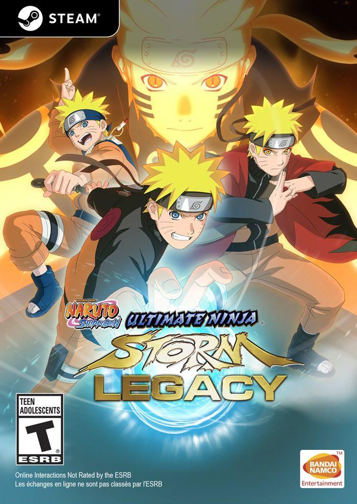 Naruto Shippuden Ninja Storm Legacy 75% Sale! (Storm 1-4+dlcs für 4)