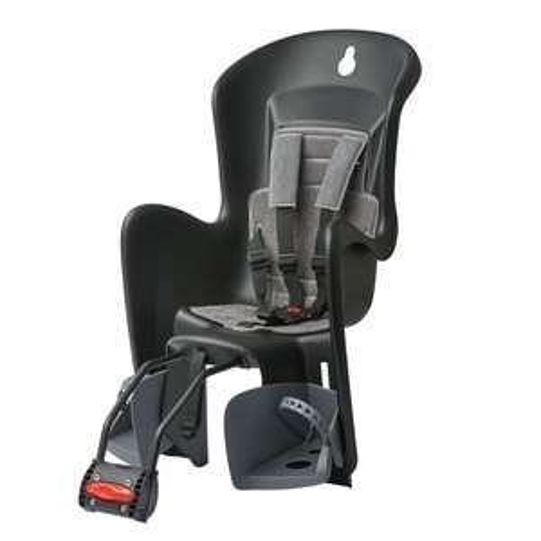 Fahrrad-Kindersitz Polisport Bilby MAXI CFS grau/schwarz