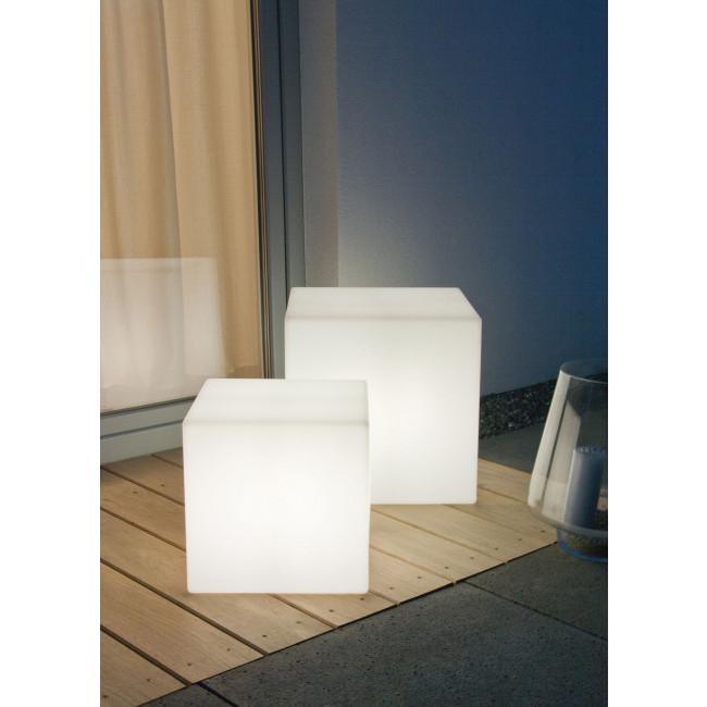 Garten Deko Lampe Cube
