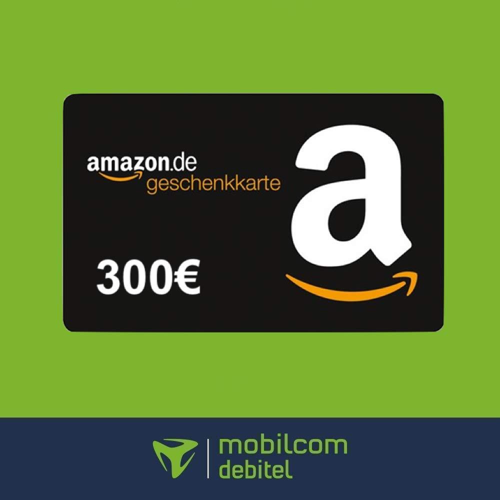 mobilcom debitel Free Unlimited Max (unlimitiertes Datenvolumen 225 Mbit/s) für mtl. 34,99€ + 300€ Amazon Gutschein [Telefonica-Netz]