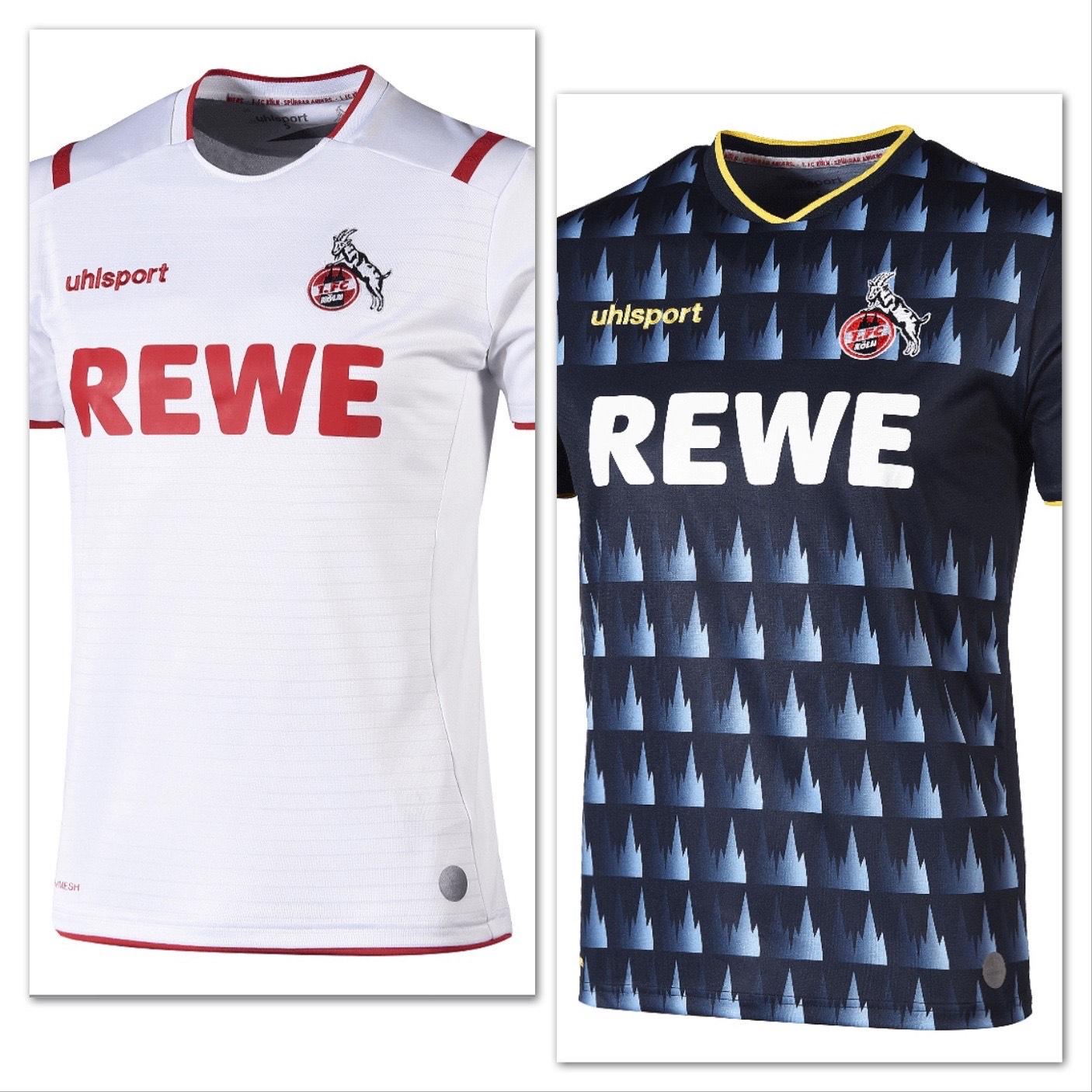 1. FC Köln Heim / Ausweichtrikot 19/20