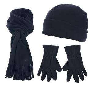 (UK) Fleece Winter Pack (Hütze + Schal + Handschuhe) Unisex für 3,99€ @ play