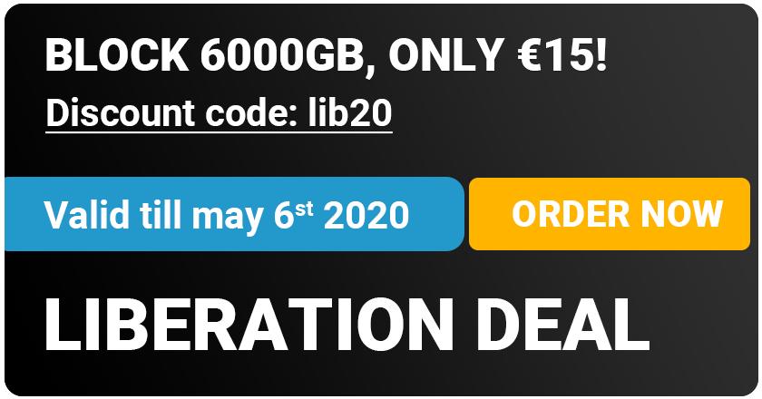 Bulknews Usenet 6000GB Block für €15