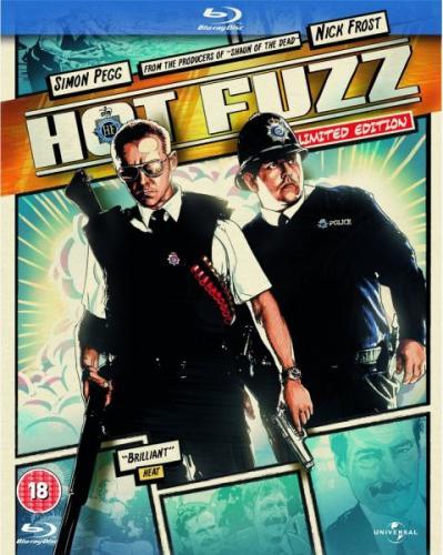 Blu-Ray - Hot Fuzz (Reel Heroes Sleeve) für €6,08 [@Zavvi.com]