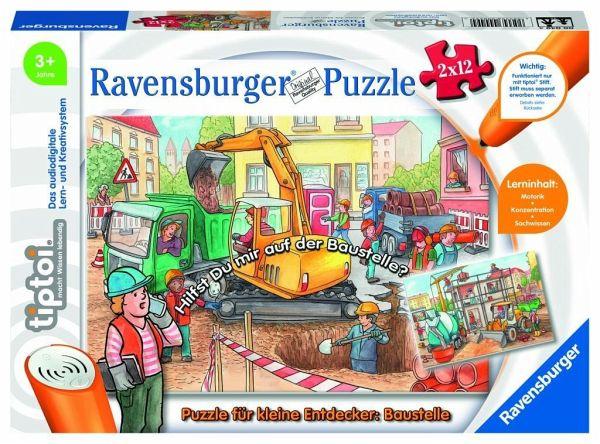 ( Amazon Prime 8,69€ & Thalia Classic Club 8,29€) Tiptoi Puzzle für kleine Entdecker: Baustelle (Kinderpuzzle)