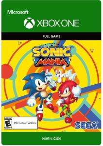 Sonic Mania (Xbox One) für 5,64€ (Xbox Store HUN)