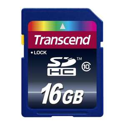 Transcend Extreme-Speed SDHC 16GB Class 10 Speicherkarte