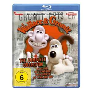 Wallace & Gromit - The Complete Collection für 9,97 Euro [Blu-ray] @Amazon.de
