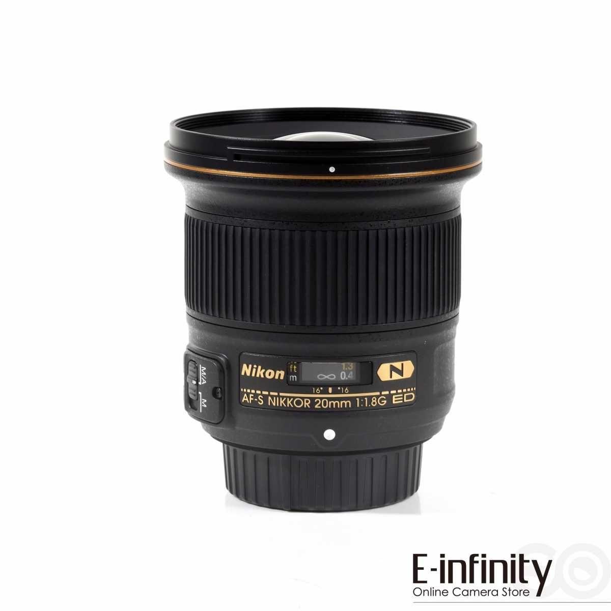Nikon 20mm F1.8 G Grauimport