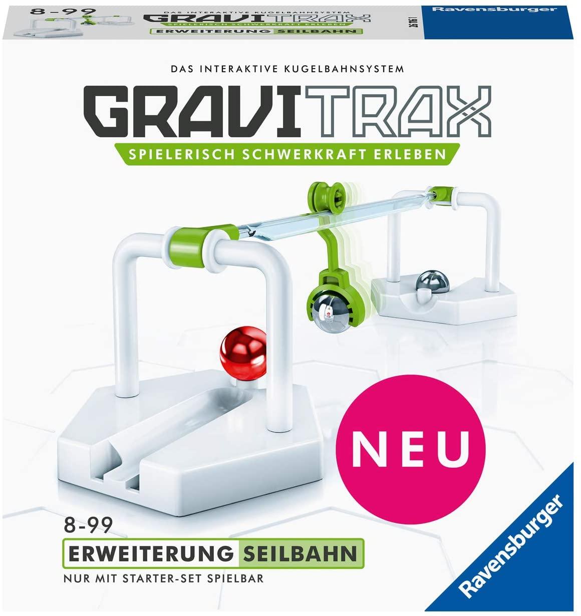 Ravensburger GraviTrax Erweiterung Seilbahn für 7,25€ (Amazon Prime)