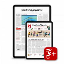 F.A.Z. + Sonntagszeitung für 6 Monate digital und 10.000 Bahnbonus Punkte (nutzbar für DB Freifahren)