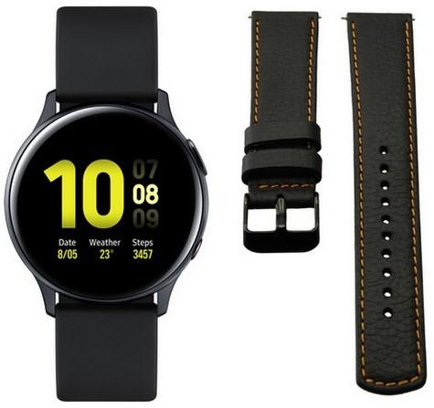 [Cosse] Samsung Galaxy Watch Active2 (40mm) LTE aqua black inkl. 2 Armband