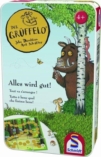 ( Amazon Prime & Thalia ) Der Grüffelo, Alles wird gut (Kinderspiel), in der Metalldose ( Mitbringspiel )