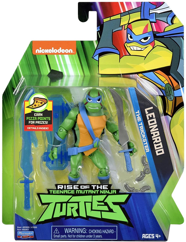 Rise of the Teenage Mutant Ninja Turtles Action Figur (Leonardo, Michelangelo & Donatello) für je 9,99€ (Amazon Prime & Müller Abholung)
