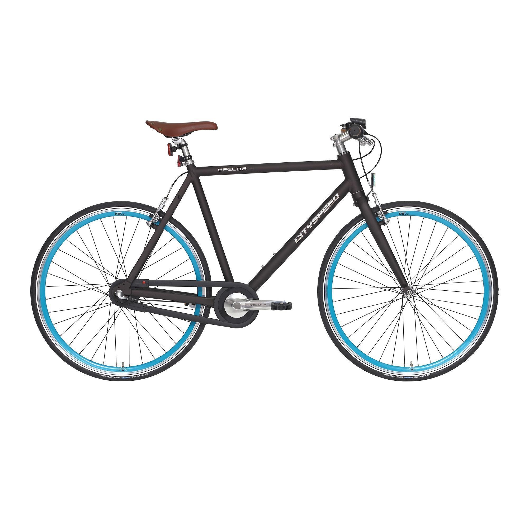 Decathlon City Bike 28 Zoll City Speed Nexus 3 - Dunkelgrau, Weiß oder Mint