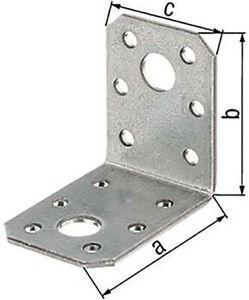 GAH Alberts Winkelverbinder 70x70x55mm 50 Stück