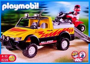 PLAYMOBIL® 4228 Pick-Up mit Racing Quad
