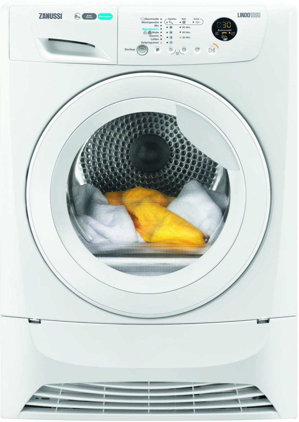[ao & Corporate Benefits] Zanussi ZDH8373W Wärmepumpentrockner - 8 kg, A+++