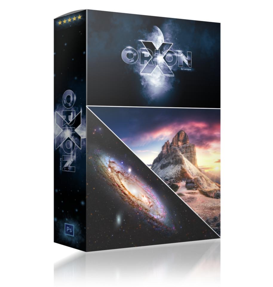 OrionX: Fotobearbeitung-Plugin für Adobe Photoshop (Windows / Mac)