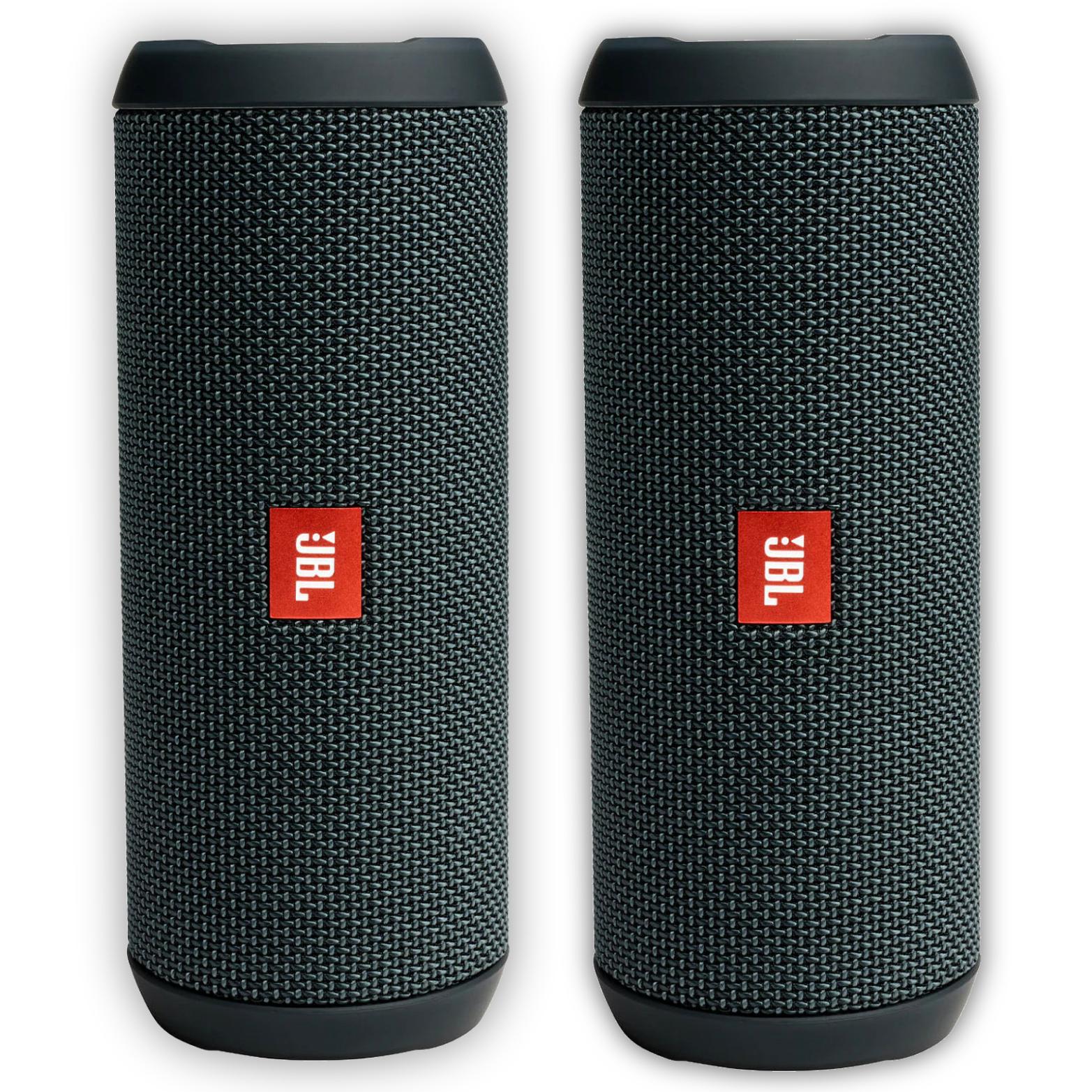 2er Bundle: JBL Flip Essential - Bluetooth Lautsprecher (10h Akku, IPX7 Wasserdicht, 2x 4cm Treiber)