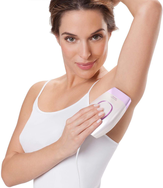 medisana IPL 805 Haarentfernungsgerät, 120.000 Lichtimpulsen, Epiliergerät mit Hautsensor und 5 Intensitätsstufen