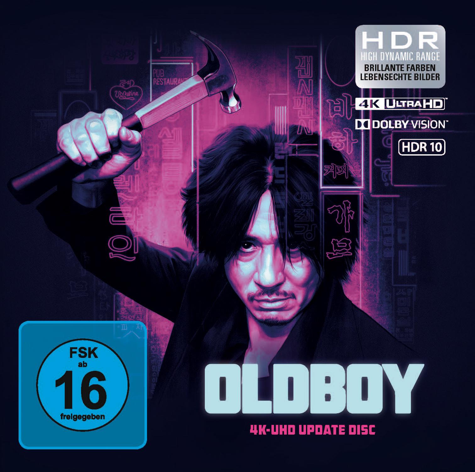 Oldboy - 4K Blu-ray im Pappschuber für 12,34€ (Capelight)