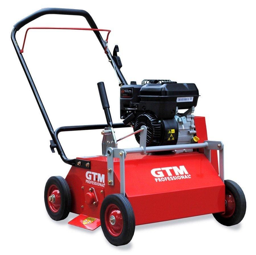 GTM Vertikutierer GTV500 mit 5 PS Briggs&Stratton Motor für Flächen bis 2.500 m², Arbeitsbreite 52cm