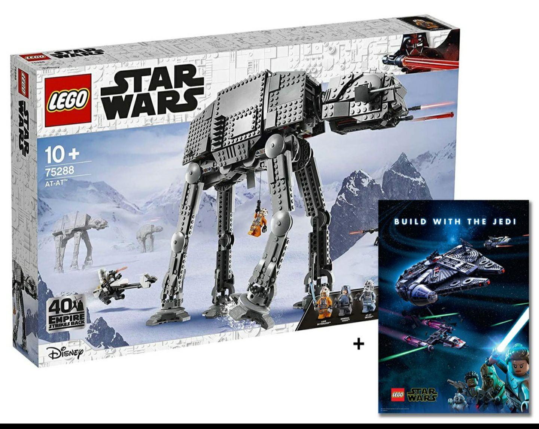 LEGO Star Wars 75288 AT-AT: Jetzt mit 13% Rabatt + 3x Gratiszugaben vorbestellen!
