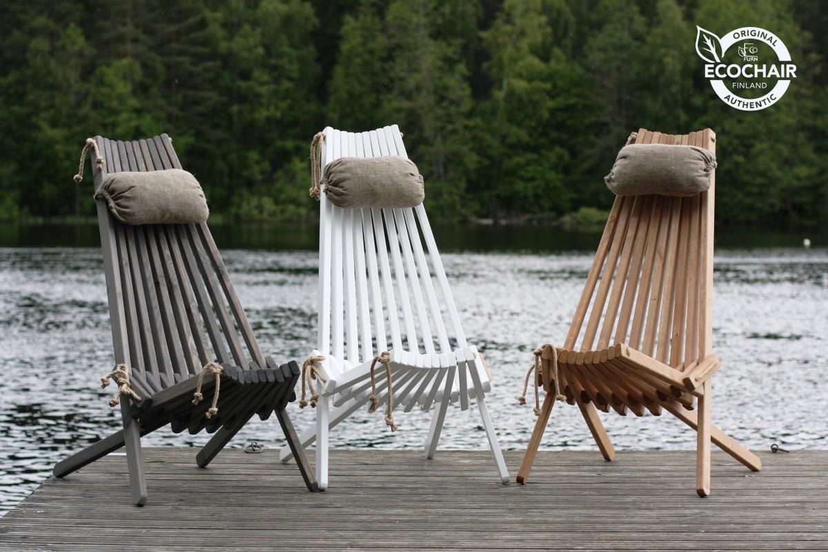 Klappstuhl EcoFurn EcoChair, Holz -verschiedene Farben zur Wahl-