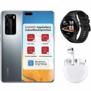 Huawei P40 Pro + FreeBuds 3 + Watch GT 2e + 18GB